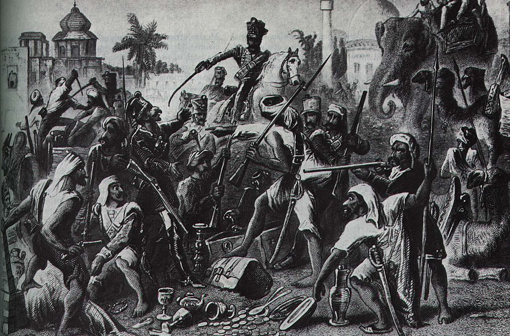 The siege of Cawnpore